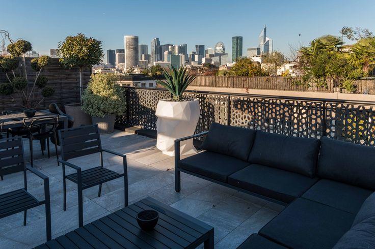 117 best Balcons et terrasses images on Pinterest Outdoor living
