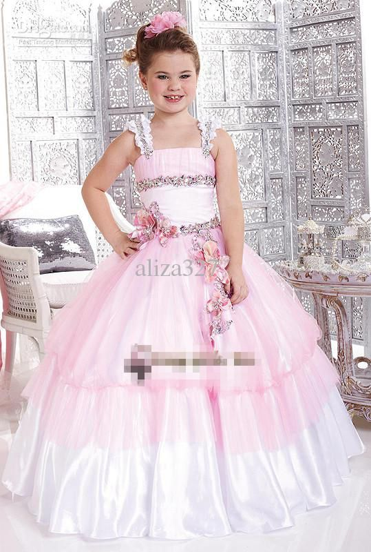 261 best Pretty Dresses images on Pinterest | Pageant gowns, Girls ...