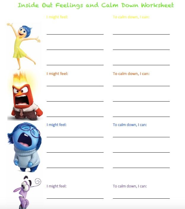 I Love Using Inside Out When Working With Kids On Emotion Identification And Emotion Regulation It S Calming Strategies Health Education Inside Out Emotions