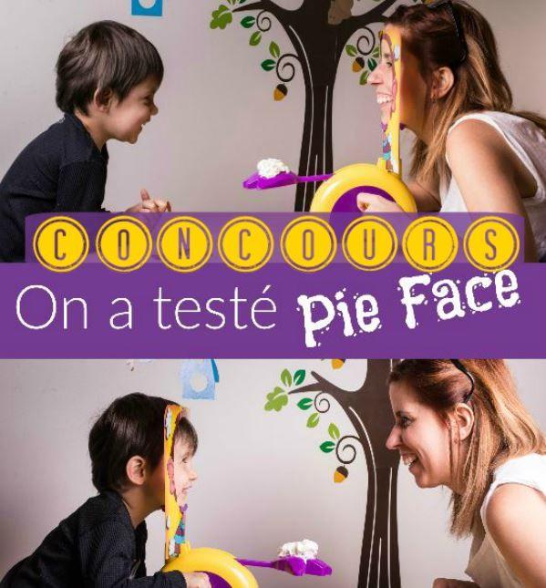 Courez la chance de gagner le jeu Pie Face de #Hasbro #PlaylikeHasbro