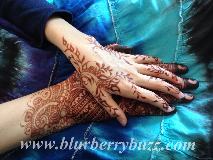 Mother/daughter henna. All natural henna stains 48 hours after paste ...