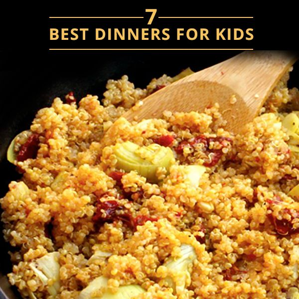 7 Best Dinners for Kids!  #kidfriendlyrecipes #cleaneating #kidfriendly