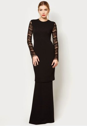 baju kurung lace moden - Google Search