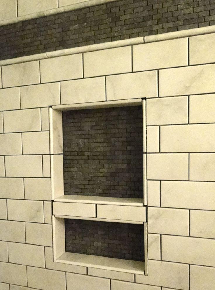 Shower niche google search interior design bathrooms for Bathroom niche design