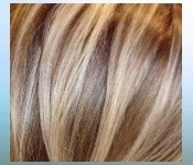 good contrast on high and low lights hairstyles