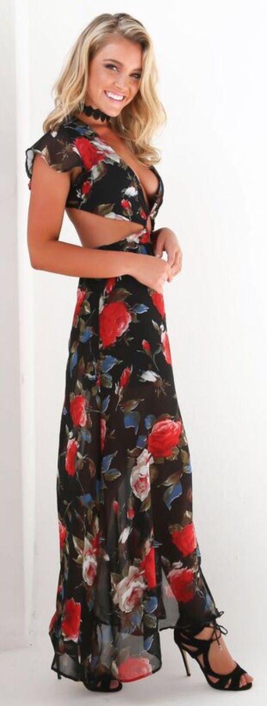 PIPPA FLORAL MAXI DRESS ❤ / @tigermistloves #tigermist tigermist.com.au