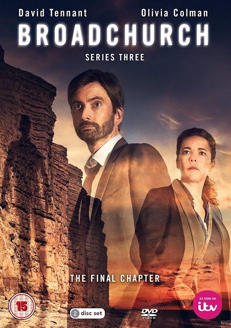 #Broadchurch 3 official DVD/Bluray (UK) - I'm not a huge fan of this cover for a number of reasons. But that's just the artist in me speaking out. From a Broadchurch fan POV... It's on my birthday list! — ifourdezign