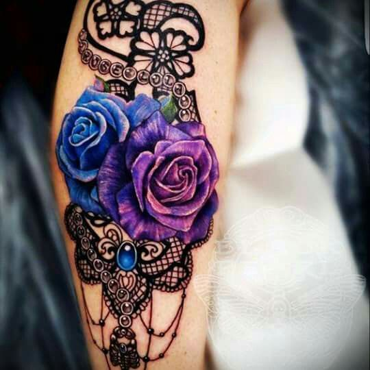 Best 25 rose sleeve tattoos ideas on pinterest rose for How are blue roses made