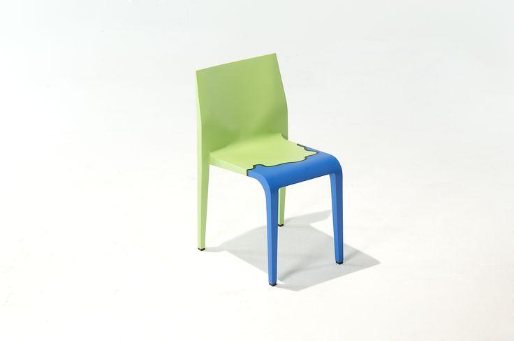 Michelangelo Pistoletto and Juan E. Sandoval for Alias Design: The Mediterraneans with laleggera chair