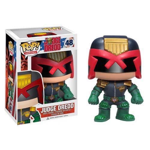 Judge Dredd Comic Pop! Vinyl Figure - Funko - Judge Dredd - Pop! Vinyl Figures at Entertainment Earth