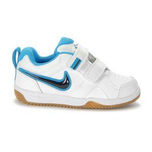 Nike Lykin 11 (TDV) - Zapatillas de tenis para niños, Blanco/Azul/Gris/Blanco, 8C
