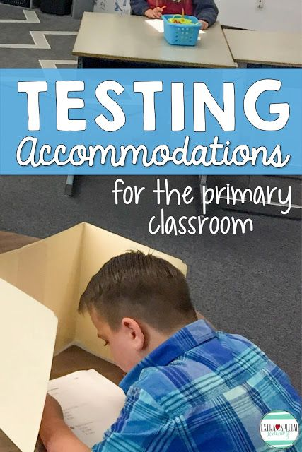 Do you need to provide accommodations on testing for special education students or other struggling students? I've explained some of the ways that I've helped my students be successful on tests.