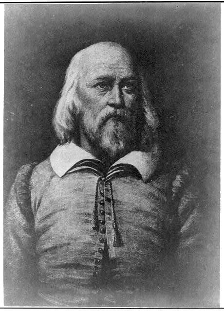 Elder William Brewster. Mayflower passenger. Plymouth Rock religious leader.  My 12th great grandfather