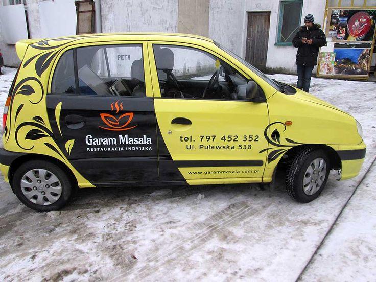 Oklejanie samochodów osobowych Hyundai Atos
