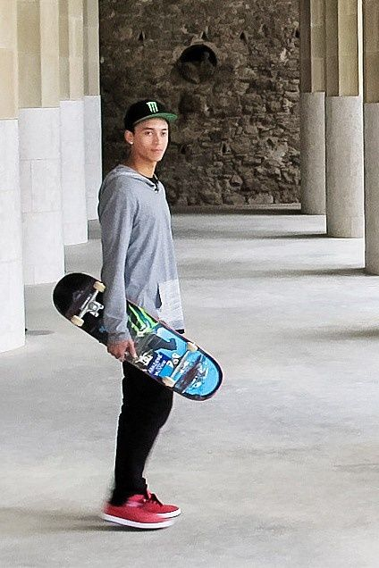 17 Best Images About Nyjah Huston On Pinterest Dreads
