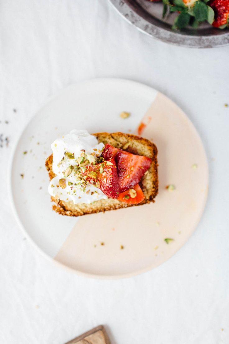 Pistachio Pound Cake From Scratch