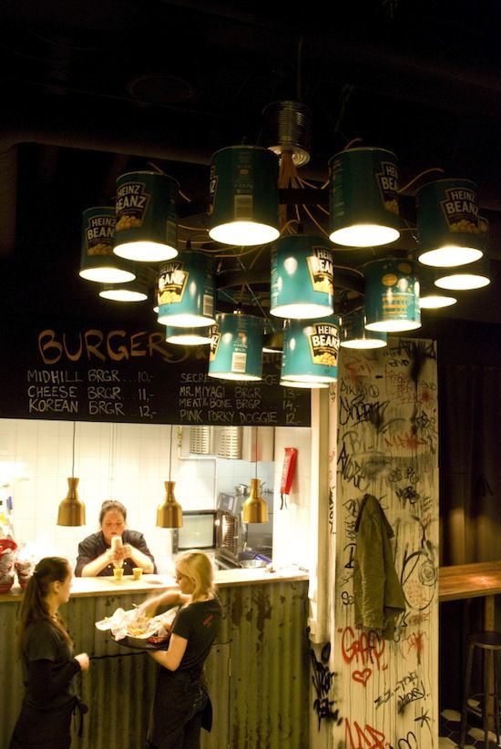 Dutchdzine CAN Light Chandelier By Willem Heeffer Industrial Scale At Midhill Diner The Can Turned Into A