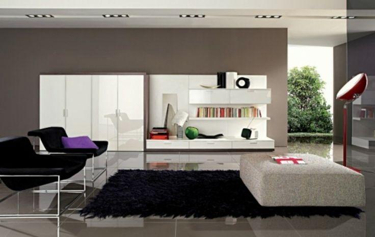 wohnzimmer modern farben wohnideen modern ideen page 2 balkon deko ...