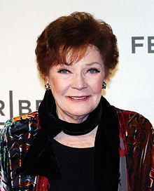 Polly Bergen was 83 when this picture was taken. She passed on today, Sept 20,2014 at the age of 84.