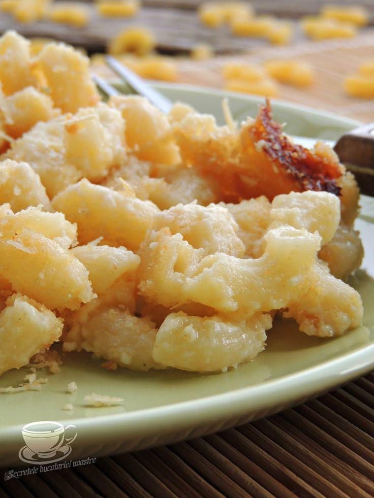 macaroane cu branza reteta, macaroane cu branza, mac and cheese, macaroane americane reteta