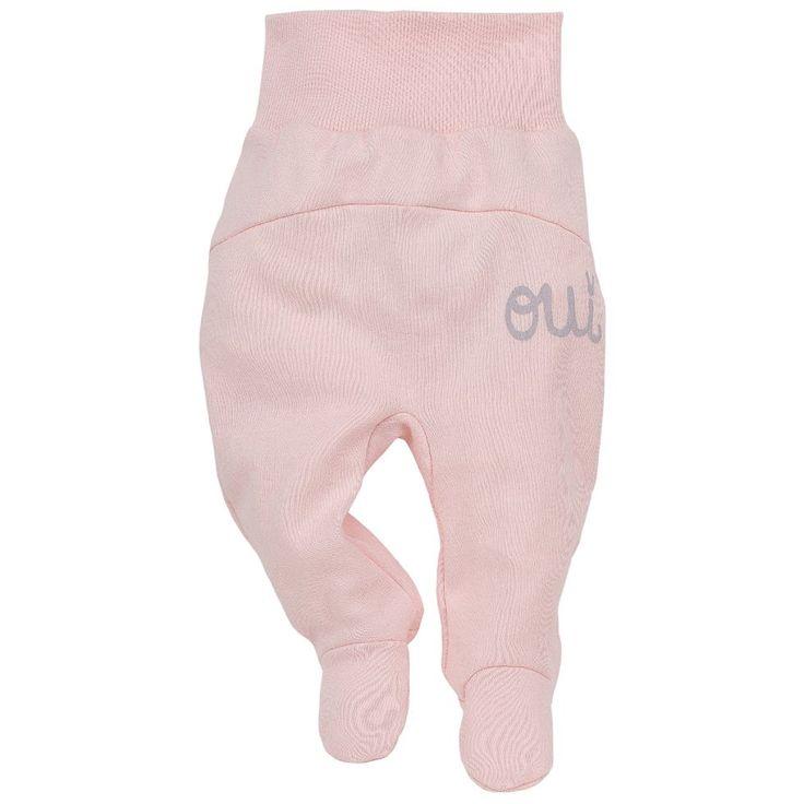 • półśpioszki dla dziewczynki z Kolekcji Colette różowe - Ubranka dla niemowląt - Sklep Polskie Dzieci