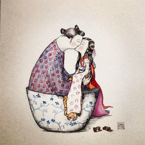 Ilustración de Carmen Fdez. Agudo -CARma-