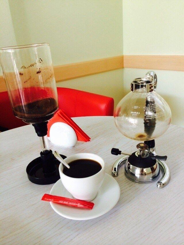 Интересный способ заварки кофе в Минском кафе / Минск / Рецепты, кулинарные блоги, кулинарное интернет-издание - koko.by
