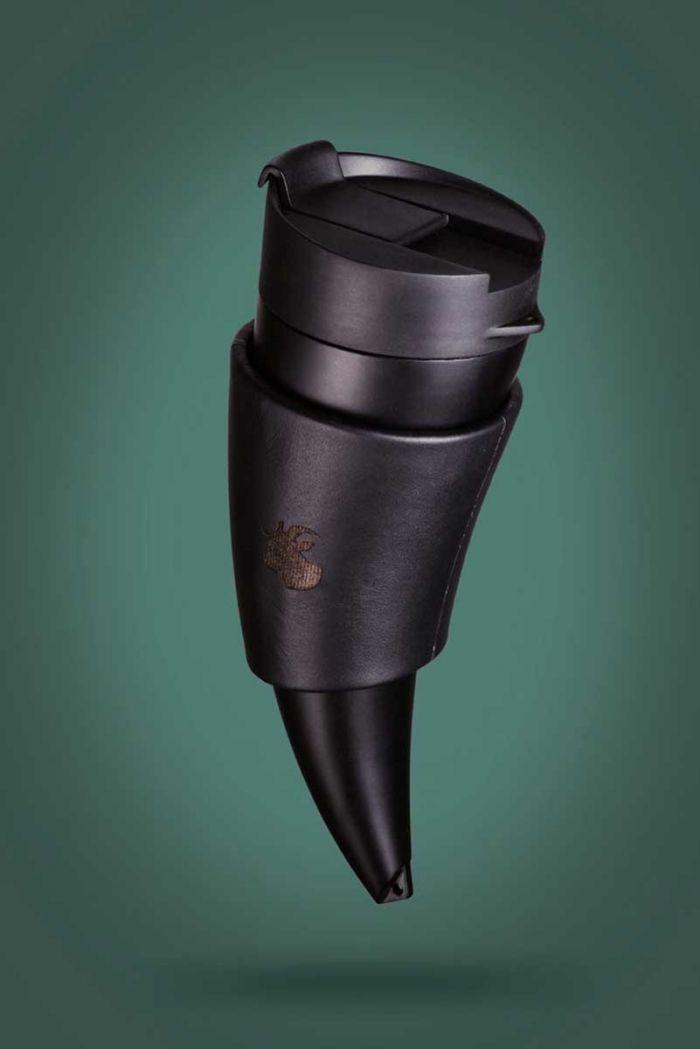 Design Goat Mug Ein Thermo Kaffeebecher Im Horn Design Goat Mug Ein Thermo Kaffeebecher Im Horn Design Viking Drinking Horn Drinking Horns Mugs