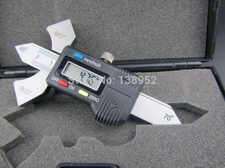 Digital Welding Gauge | Digital Welding Gauge Weld Test Ulnar Inspection Metric/Inch Gage For ...