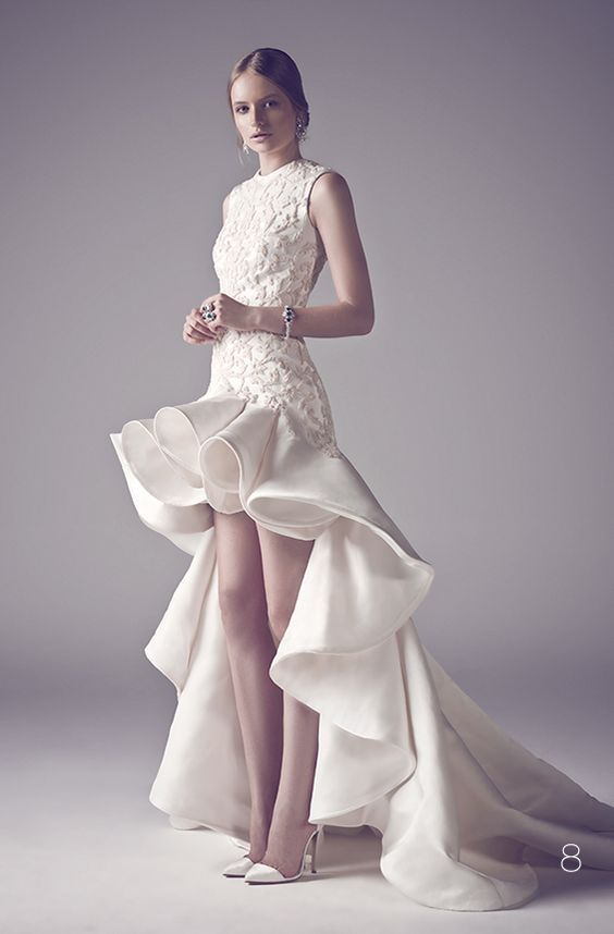 Mohammed Ashi's Fall 2014 Couture Bridal Gowns