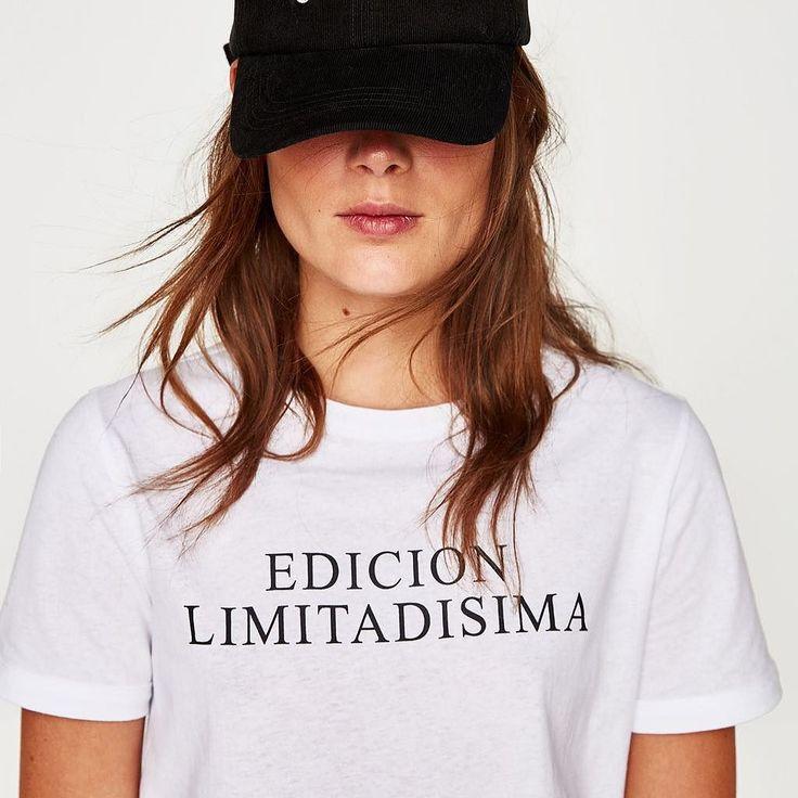 Nuevo modelo by noclon en tiendas Zara #trf #trafaluc #zara #tshirt #camisetazara #camiseta #edicionlimitadisima