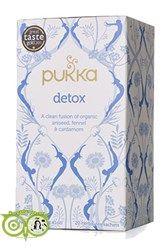 Pukka detox is een unieke mix van reinigende kruiden met ontgiftende eigenschappen. Drink dagelijks om de volledige voordelen van deze heerlijk rustgevende spijsvertering thee genieten.  Ingredienten: Anijs (40%), venkel (20%), kardemom zaad (15%)...