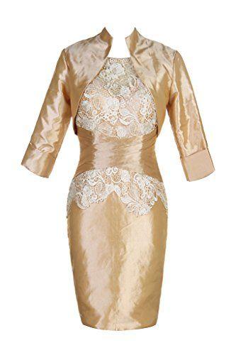 Voguevers Women's Sheath Short Mother of the Bride Dresses with Jacket Gold US 2 Voguevers http://smile.amazon.com/dp/B013S5HHPY/ref=cm_sw_r_pi_dp_mCZ7wb00DCD8W