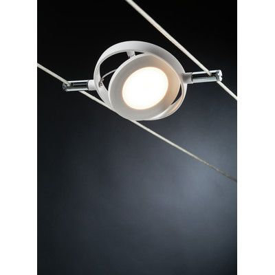 Paulmann Wire Systems 6 Light LED RoundMac Track Light