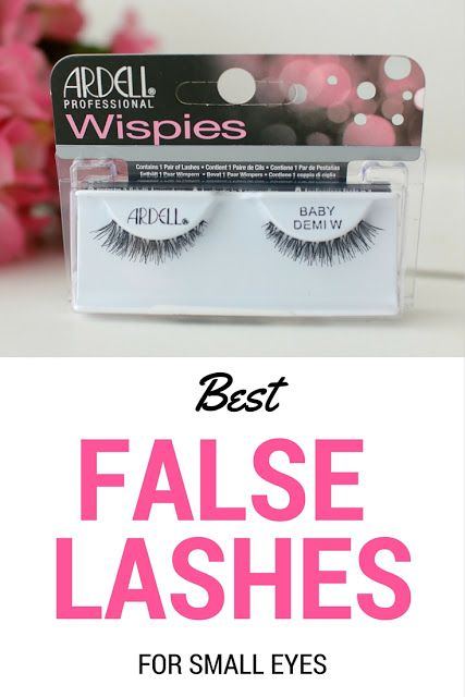E l l e S e e s: Beauty Find of the Week: Ardell Baby Demi Wispies False Lashes (great for small eyes and hooded lids)