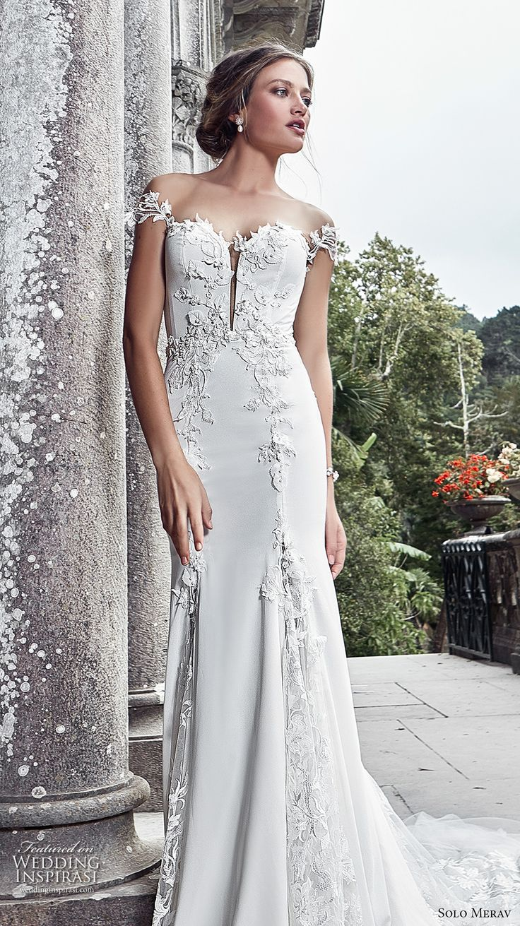 1133 best dresses images on pinterest groom attire gown wedding solo merav 2017 wedding dresses games of lace bridal collection ombrellifo Choice Image
