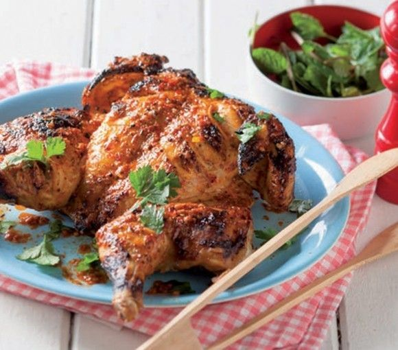 In six ingredients, you can make a chicken dish that not only compliments the cooking style of an open-fire but one that stays tender, flavourful and easy to make. Ingredients: 2 free-range chicken, spatchcocked 60 ml harissa paste 60 ml low-fat Greek yoghurt 1 juice and grated peel of lemon, (plus extra for serving) 1…