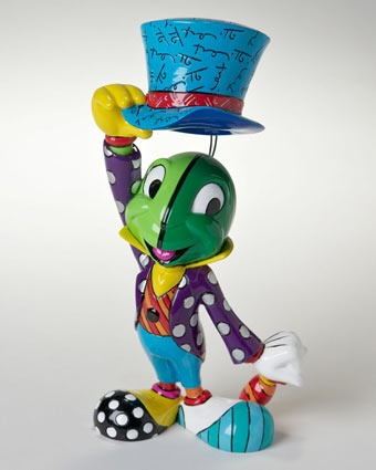 Britto 8 In. Jiminy Cricket Figurine Available at: www.always-forever.com