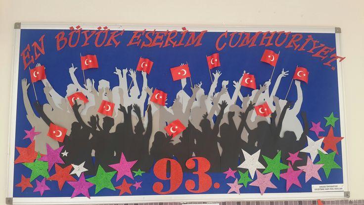 ANKÜ GELİŞTİRME VAKFI ÖZEL OKULLARI  CUMHURİYET PANOM /ELİF  SELÇUK ÖZTÜRK