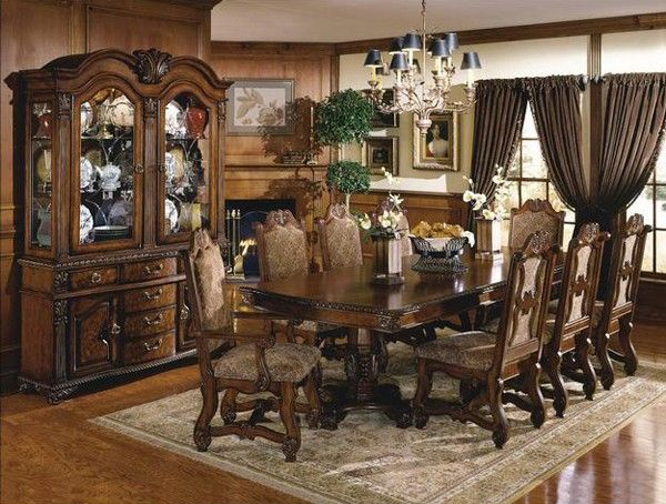 traditional dining room set. GFD  Neo Renaissance 9 Piece Traditional Dining Room Set 592400 9SET Best 25 dining room sets ideas on Pinterest