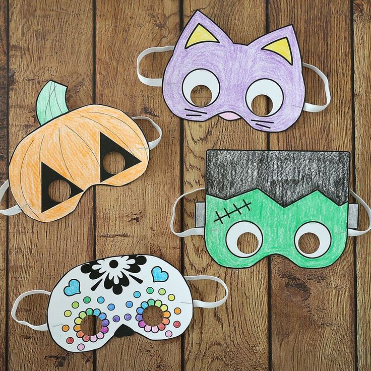 Creative DIY Halloween Masks to Wear Alone or Complete