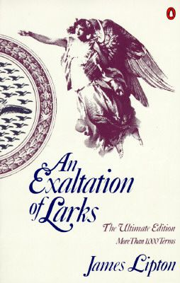 An Exaltation of Larks (James Lipton) O my this book changed my thinking about language.....a siege of Heron.....