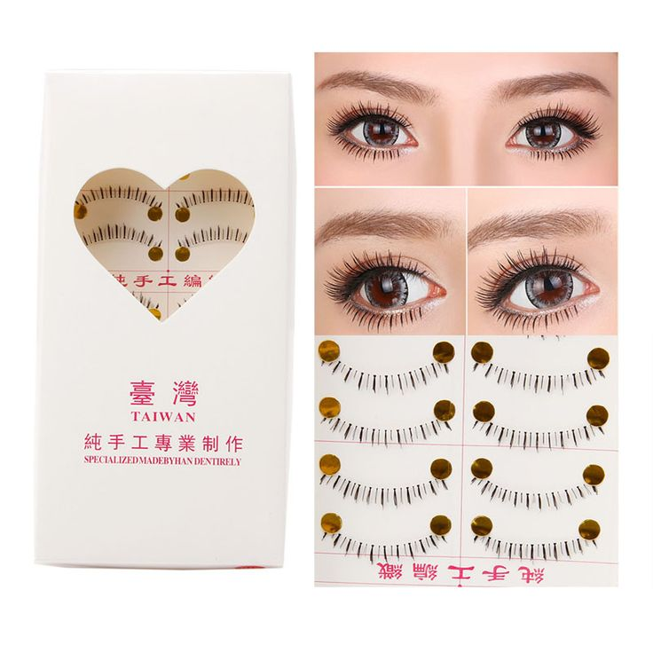 10 Pairs Handmade Naturale Inferiore Sotto Inferiori Falso Ciglia Finte Eye Lashes Hot