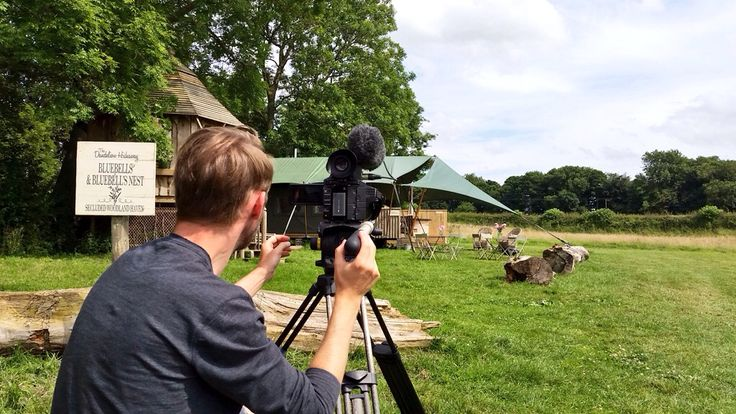 On location at the fabulous Dandy Glamping filming the Bluebell and Bluebells nest accomodation. #glamping #countryside #dandyglamping
