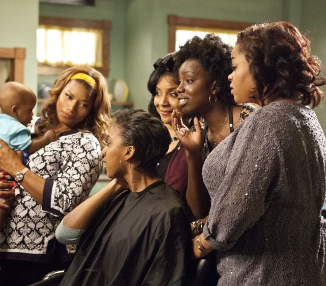 Still of Queen Latifah, Alfre Woodard, Phylicia Rashad, Jill Scott and Adepero Oduye in Steel Magnolias, 2012.  Can't wait to see this!