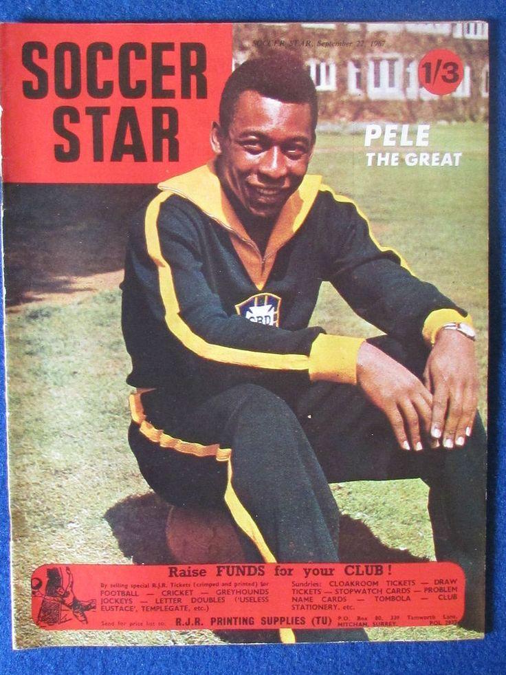 Soccer Star Magazine - 22/9/1967 - Vol 16 - No 2 - Pele on cover