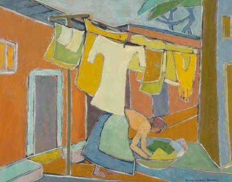 Wash-day by Bettie Cilliers-Barnard