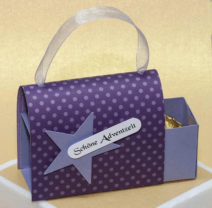 Rocher-Bag-Box Tutorial nachgearbeitet von Renate..