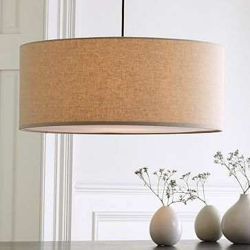 I can't say enough how much I love this short drum pendant light from West Elm. Every time I walk in my house and see it hanging in my dining room, it just makes me happy.