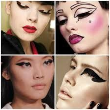 Image result for graphic make up